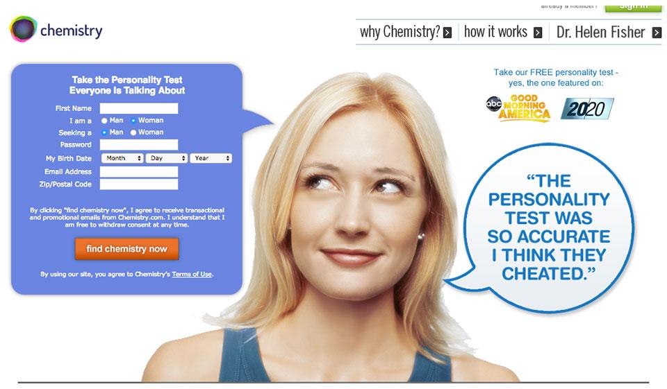 Chemistry.com Recensione 2021