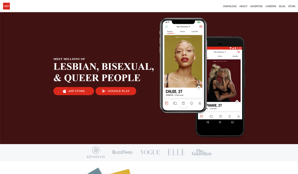 HER Dating App Recensione 2021