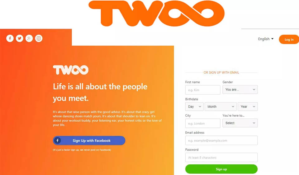 Twoo Recensione 2021