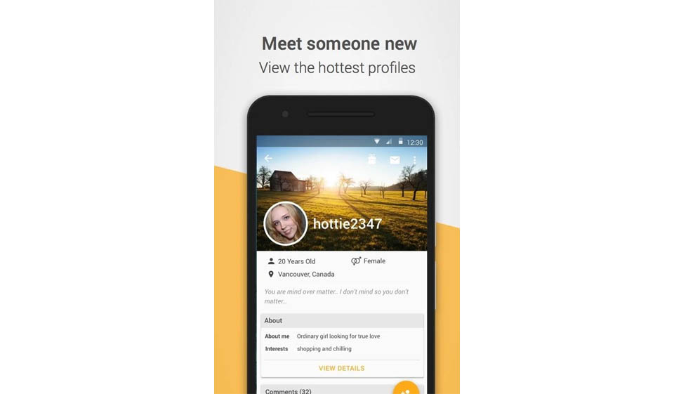 political dating app
