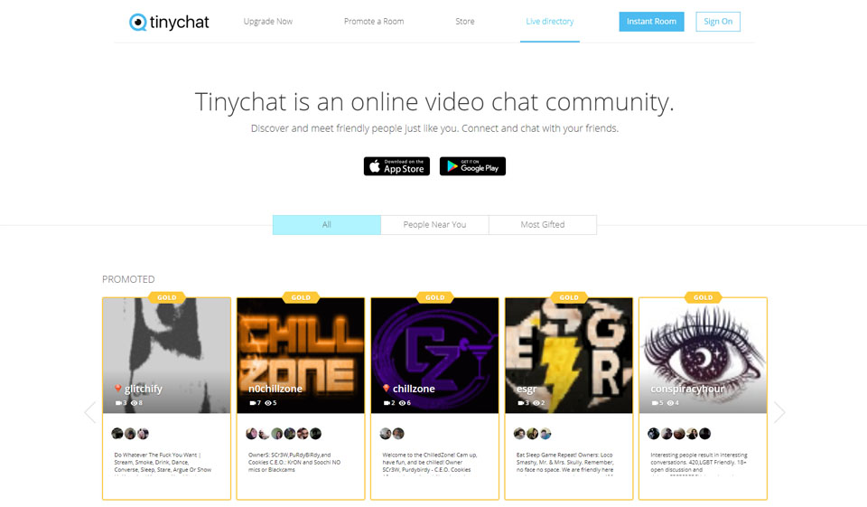 TinyChat Recensione 2021